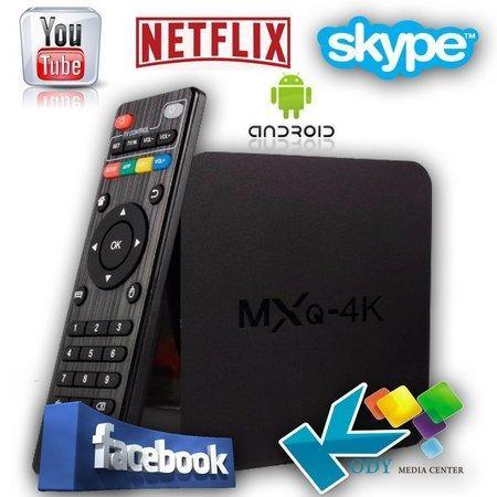 TV Box Mxq 4k 2GB Ram 16 Interno Android 7.1 atualizado e