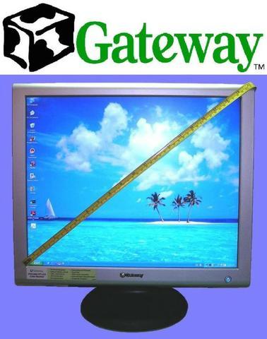 Gateway FPD Monitor HD Lcd 19'' Analogico Digital