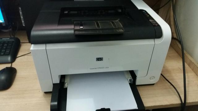 Impressora hp laser color