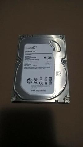 Vendo HD para Desktop de 1 TB Seagate Novo