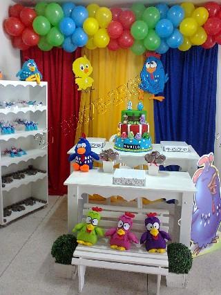 Decoração com balões- festas em geral