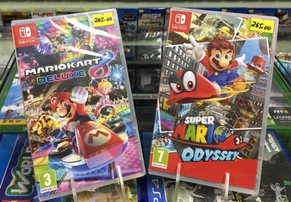Jogos p/ Nintendo Switch, novo lacrado