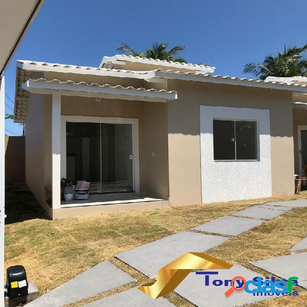 Linda casa em condomínio 2 quartos em Cabo Frio