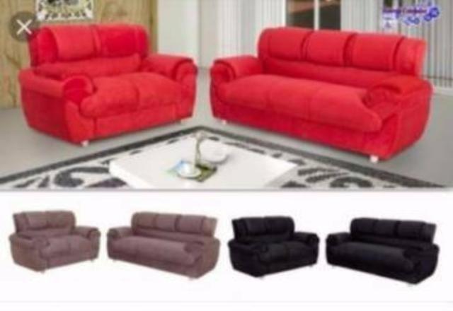 Jogo de sofa 2 e 3 lugares pronta entrega -pagua na sua