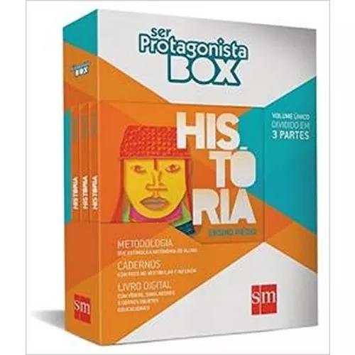 Box Livros Ser Protagonista Historia Ensino Medio Integrado