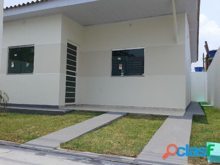 Casa Nova (Financia) 2 quartos (1 suite) Pronta - Nova