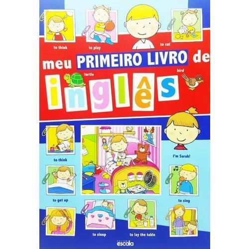 Meu Primeiro Livro De Inglês - Curso Criança Infantil