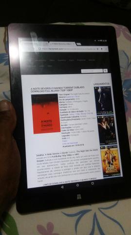 Tablet 2e1 chuwi 64gb 4 de ram bem conservado 10.1 polegada