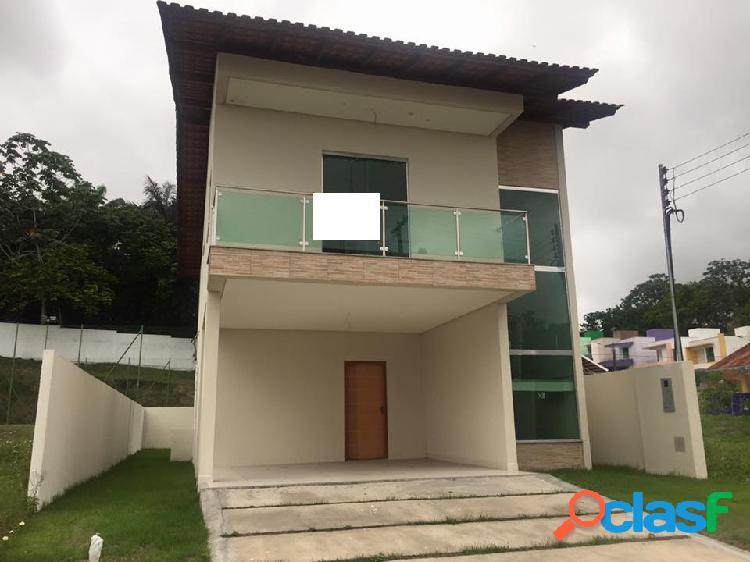 Vende Casa em Condominio fechado no Tiradentes em Manaus