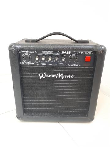 Amplificador Cubo para Baixo Warm Music Rb 108