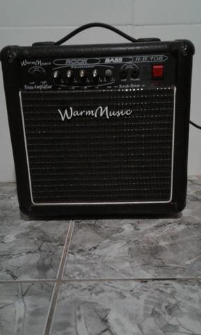 Amplificador para baixo - Cubo Warm Music Rb 108 - R$