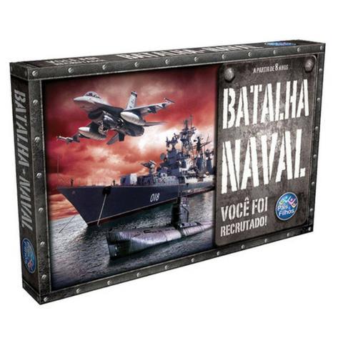 Jogo Batalha Naval - Você Foi Recrutado - Pais E Filhos
