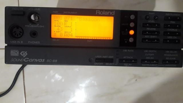 Modulo roland MIDI