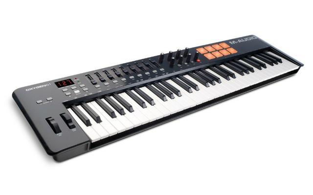 Teclado Controlador MIDI - M-Audio Oxygen 61 Semi Novo