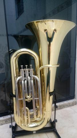 Tuba 3/4 Weril J370 Sib Personalizada Zerada -Troco -Parcelo