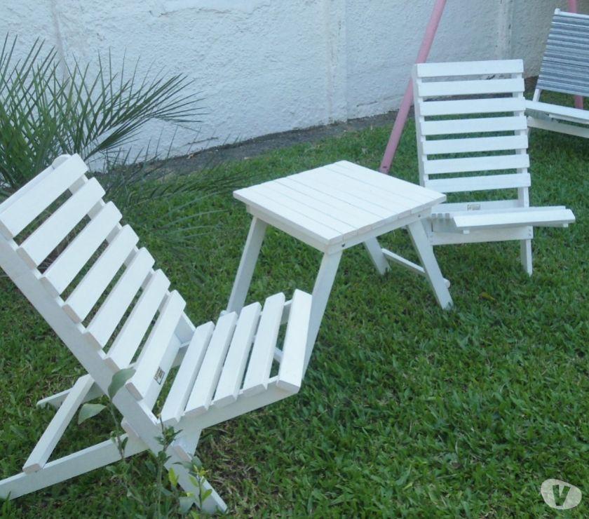 cadeiras desmontáveis em madeira maciça jp