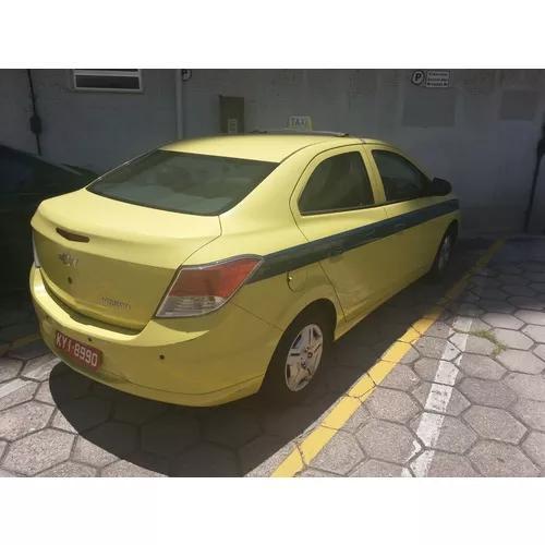 Autonomia De Taxi Antiga Com Prisma 2017 14.000km Rodados