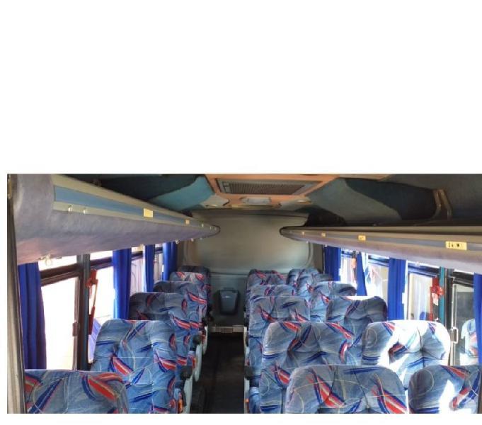 Micro onibus busscar rodoviaria ano 2001 c ar