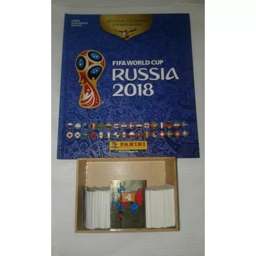 lbum Capa Dura Copa Da Rússia 2018 Completo
