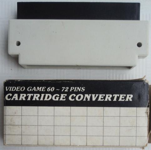 Adaptador  jogue nes 72 Pinos Em Famicom 60 Pinos