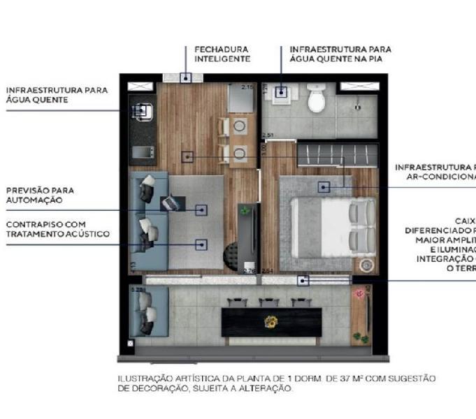 Core Pinheiros Stúdios, Apartamentos e Consultórios