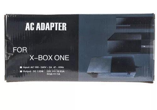 Fonte Xbox One Bivolt+cabo De Forca Lacrado Na Caixa