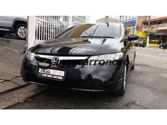 HONDA CIVIC SEDAN LXS 1.8/1.8 FLEX 16V MEC. 4P 2006/2007