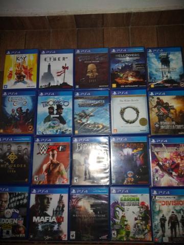Jogos de PS4 barato