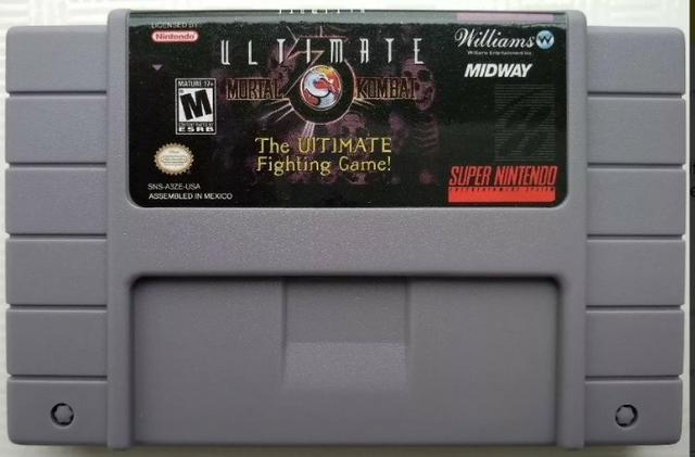 Mortal Kombat 3 Ultimate Super Nintendo Snes