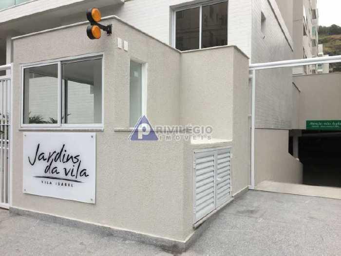 Vila Isabel, 2 quartos, 1 vaga, 55 m² Rua Torres Homem,