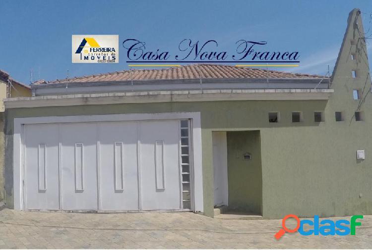 Casa Nova Franca - Casa a Venda no bairro Parque Residencial