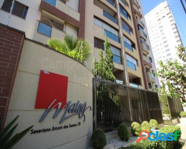 Cobertura Duplex 3 suítes e 3 vagas Frente Parque Raya -