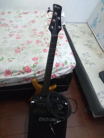 Contra-baixo Memphis Tagima TB540 + Cubo Bass meteoro