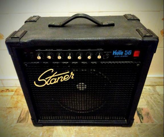 Cubo Amplificador De Guitarra - Staner Kute 56
