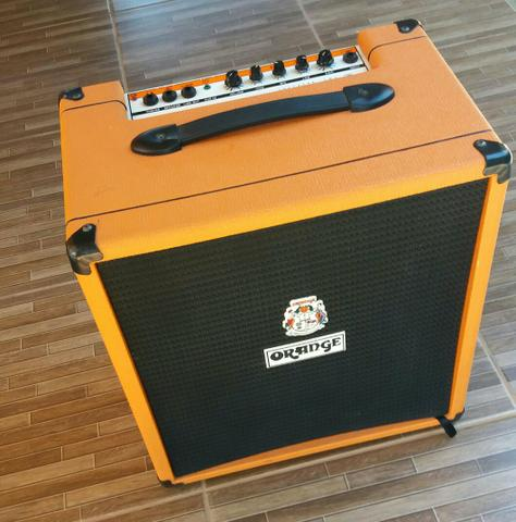 "Cubo Amplificador para Baixo ""Orange Crush 50 BXT"""