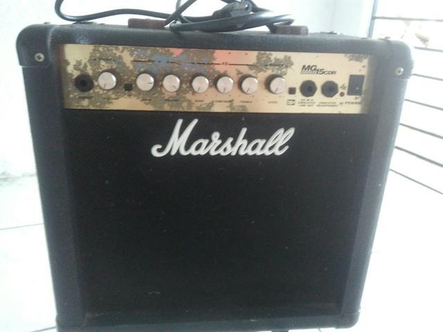 Cubo amplificador Guitarra Marshall R$300