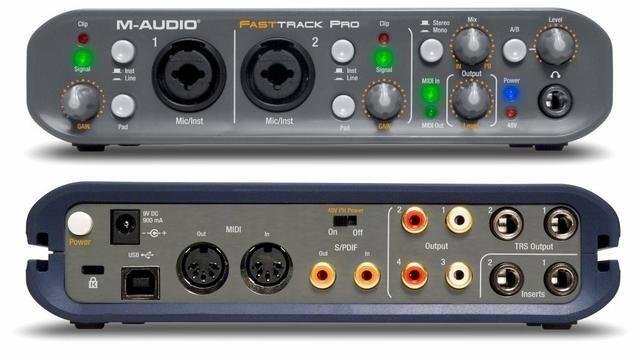 Fast track pro m audio