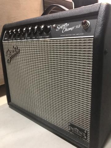 Fender Super Champ x2 valvulado