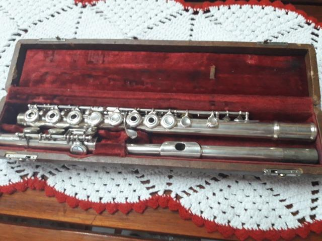 Flauta transversal armstrong 103 na promoçao