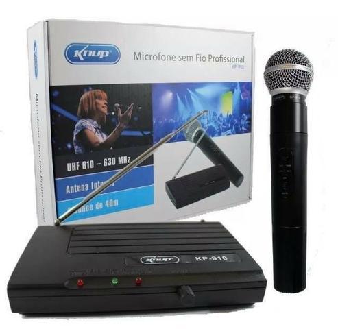 Microfone sem fio KP- 910