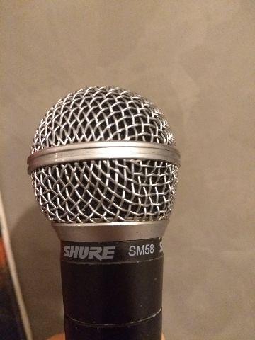 Microfone shure sm 58