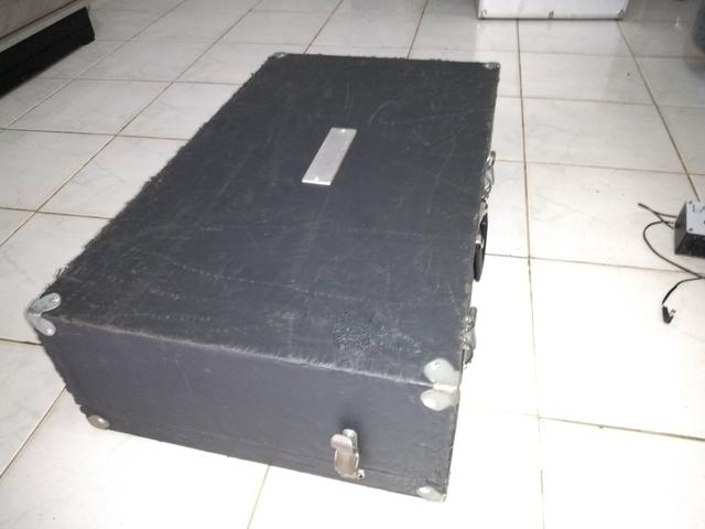 Pedalboard 70x40 inclinado handmade