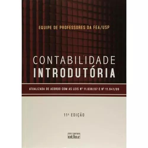 Contabilidade Introdutória - Livro Texto - 11ª Ed. 2011