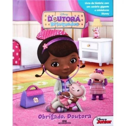 Livro Doutora Brinquedo - Com Cenário E 12 Miniaturas