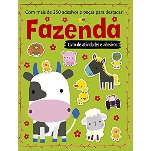 Livro Livro De Atividades E Mais De 250 Adesivos - Fazenda