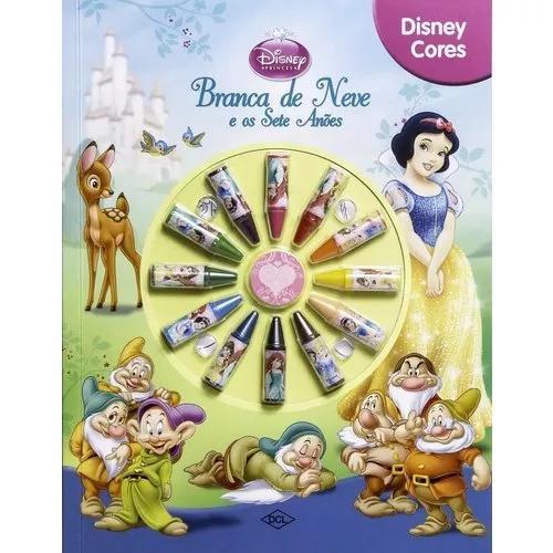 Livro Para Colorir Disney Cores - Branca De Neve