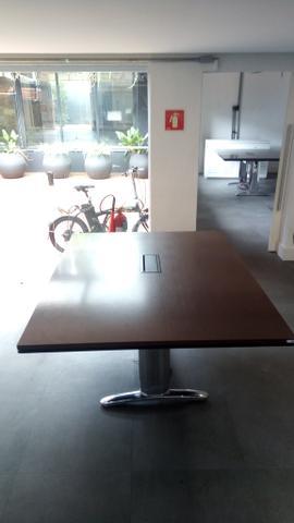 Mesa de reunião alto padrão 10 a 12 lugares