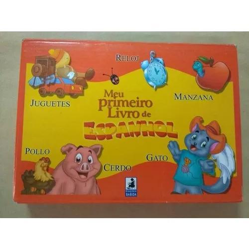 Meu Primeiro Livro De Espanhol C/ 12 Livros