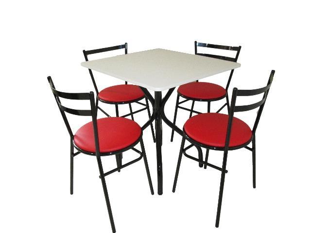 Móveis para bares e restaurantes, jogo de mesa com 4