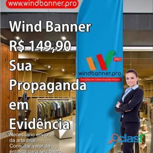 Wind Banner RJ é na Wind Banner Pro!